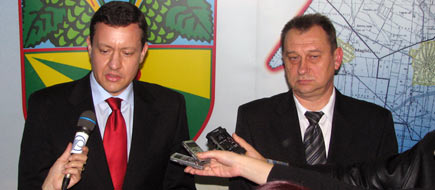 Ministar R.Slovacke Lipsic u Backom Petrovcu